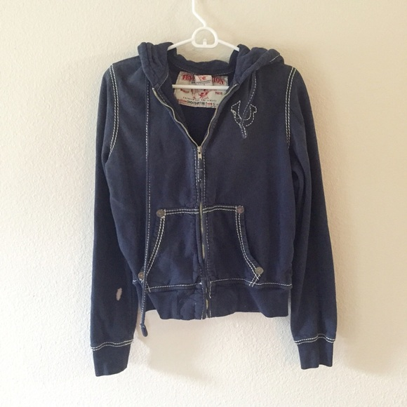 True religion jean jacket made in mexico
