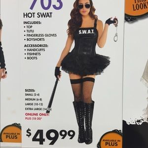 Other - Hot sexy SWAT costume (police/law enforcement/cop)