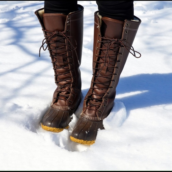 L L Bean Shoes Ll Bean Maine Hunting Boots 16 Poshmark