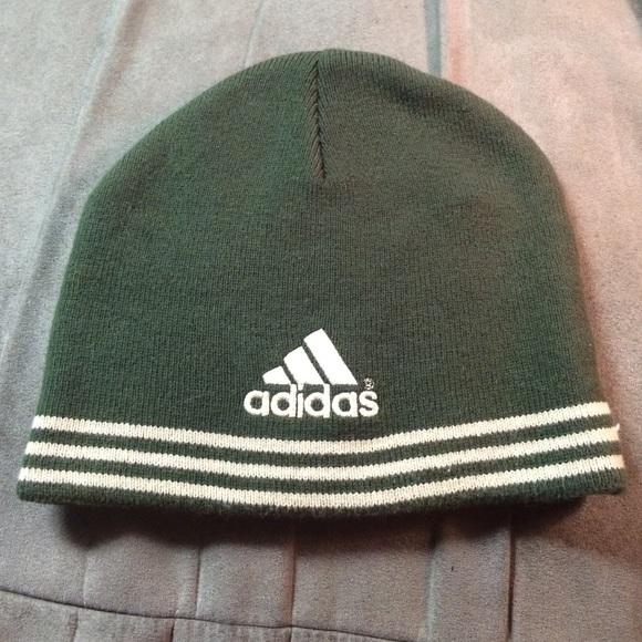 Adidas Accessories - Adidas Winter Hat Green and Tan f387d81f3f3