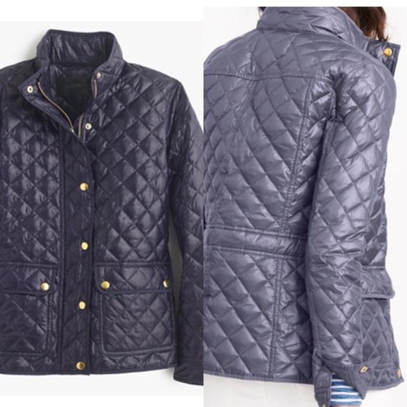 54a0c31c407a J. Crew Jackets   Coats   Jcrew Shiny Downtown Field Puffer Jacket ...