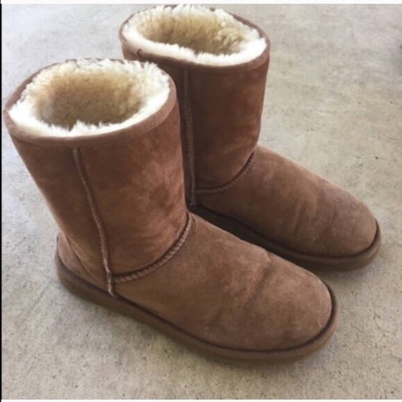 ❤️SALE ONE DAY ❤️Chestnut uggs worn 2 times