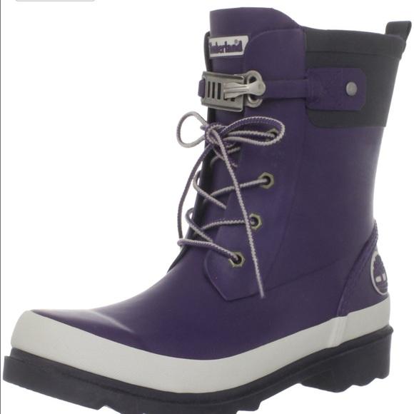 50 Off Timberland Shoes Purple Timberland Rain Boot