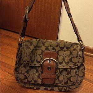 Coach Handbags - Authentic Coach Signature Handbag