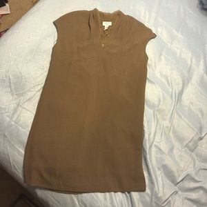 Carmen Marc Valvo Crepe Dress (size Large)