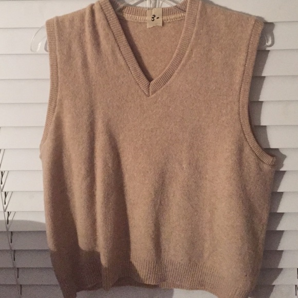 50% off Sweaters - Cream Colored V-Neck Sweater Vest from Dyana's ...