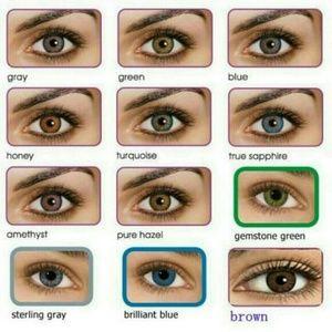 freshlook makeup colored contacts 2 pair 23 poshmark