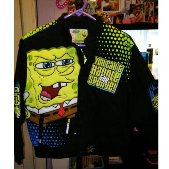 Jackets Coats Spongebob Racecar Jacket Poshmark