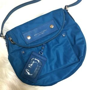 NWOT Authentic Marc Jacobs Blue Crossbody Bag!