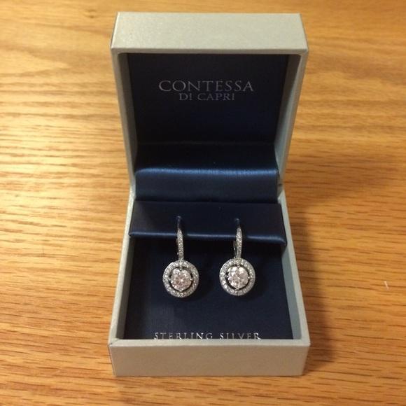 e994c233d Contessa DI Capri Jewelry | Sterling Silver Earrings | Poshmark