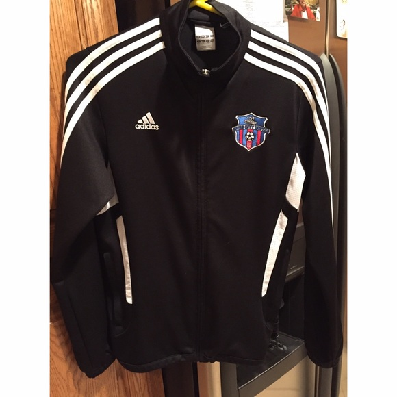 Adidas Jackets   Blazers - Adidas soccer warm-up jacket 52bbd34a813f