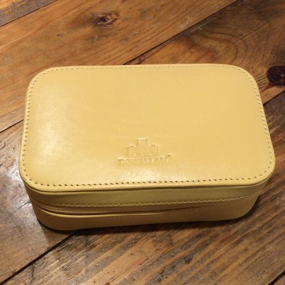 38 off Rowallan of Scotland Bags Leather Jewelry Travel Case Poshmark