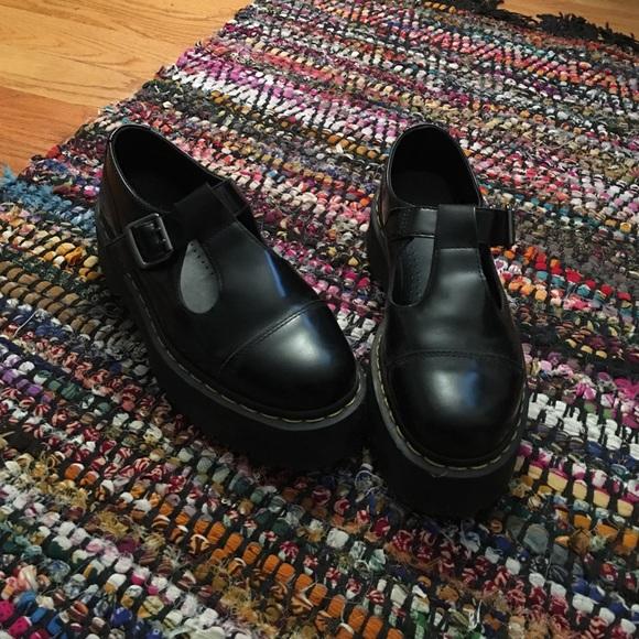 64a82c6a23 Dr. Martens Shoes | Dr Martens Bethan Leather Platform Tbar | Poshmark