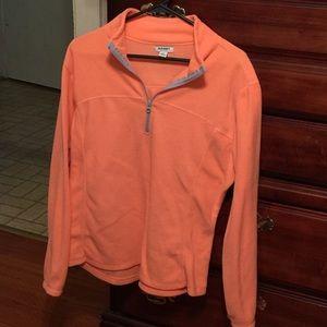 Orange Old Navy Quarter Zip Sweatshirt