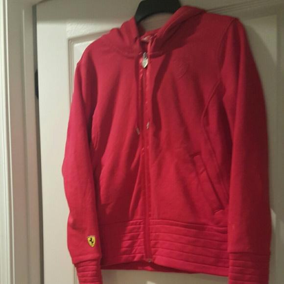 1477121e1990 🎉Sale🎉Puma Ferrari Womens Hooded Sweat Jacket. M 5631d658d6b4a181c9003a7e