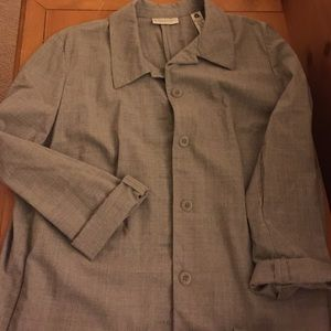 Valerie Stevens Stretch Wool Blend Suit