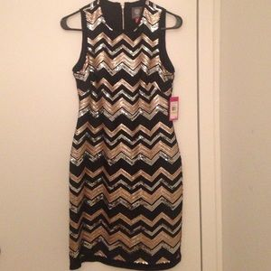 Sequined Vince Camuto dress