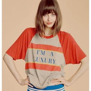 Wildfox Tops - 🎉HP 12/20🎉 WF 'I'm a Luxury' raglan pullover