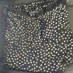French Connection studded mini dress/top! Sz 8