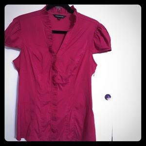 😍•EXPRESS•Gorgeous Red Career Office blouse 👚