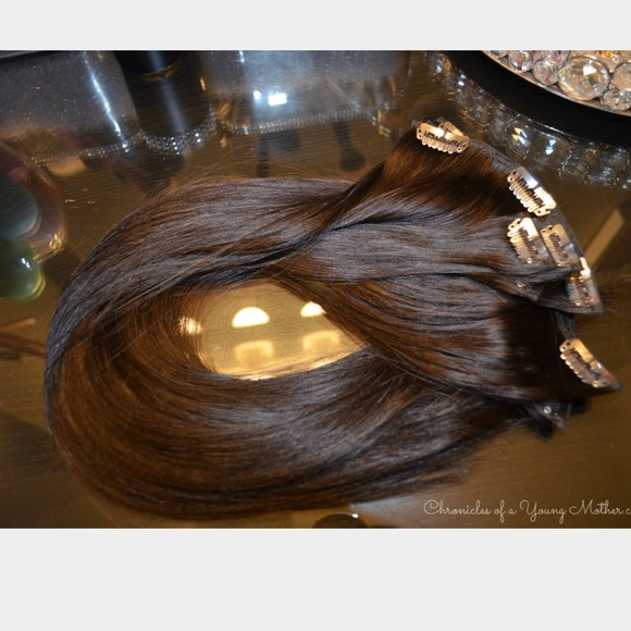 Euronext Accessories Dark Brown Hair Extensions Poshmark