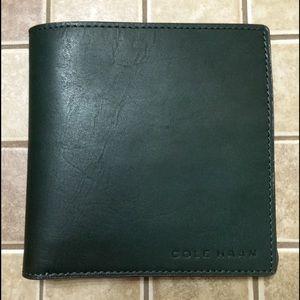 Cole Haan Handbags - Beautiful forest green Cole Haan wallet