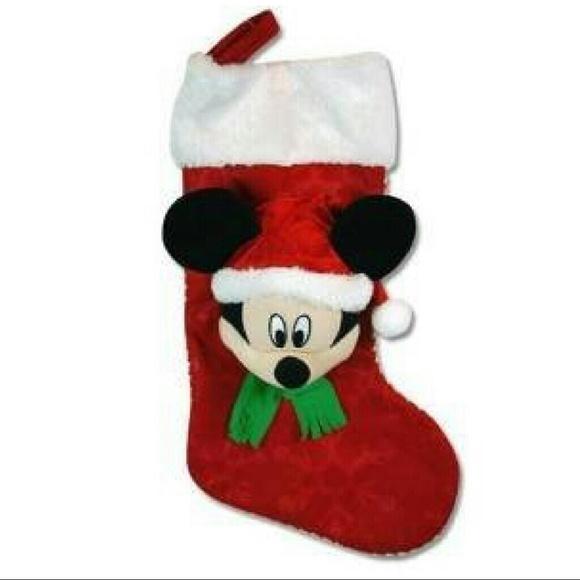 disney mickey mouse 3d christmas stocking - Mickey Mouse Christmas Stocking