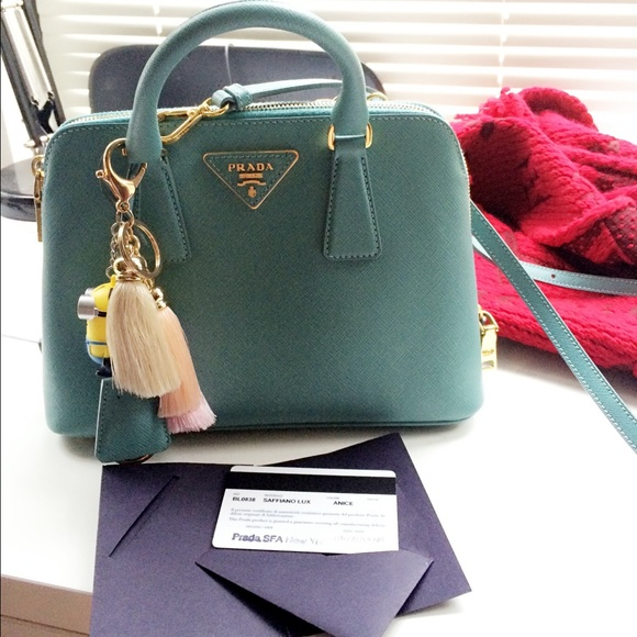 12% off Prada Handbags - Sold! Prada small Saffiano Lux Promenade ...