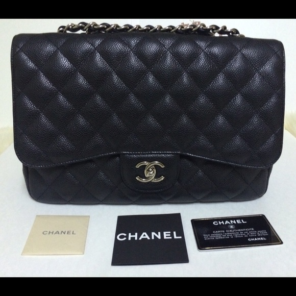 80ab48f137a6e6 CHANEL Bags | Jumbo Flap Caviar Black | Poshmark
