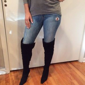 3c4836483b5 Nine West Shoes - ⚡️Today ONLY Flash sale ⚡️over the knee boots ...