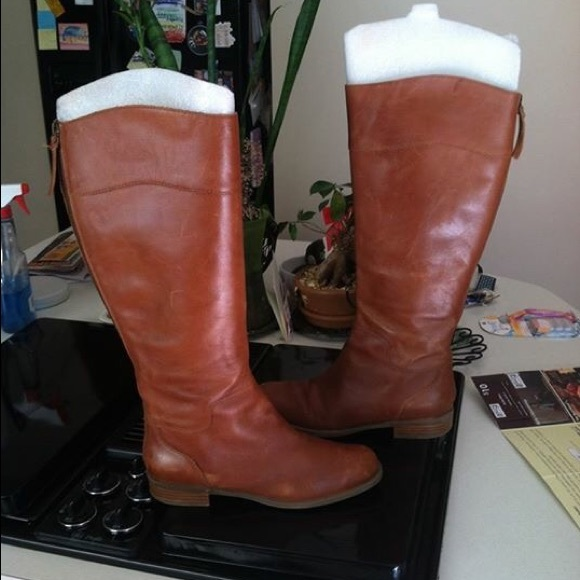 Nine West Counter Riding Boot Wide Calf