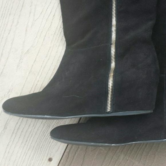bcbgeneration sold bcbg quot isanna quot wedge boots sz 11