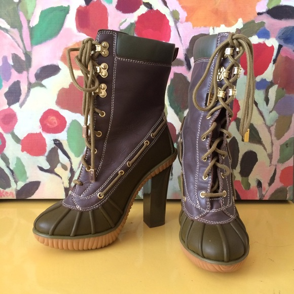 michael kors slicker heel duck rain boot - Duck Rain Boots