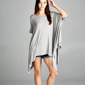 "Bare Anthology Tops - ""Chase the Wind"" Asymmetrical Top"
