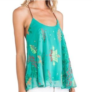 Sale | New SURF GYPSY Jade Boho TOP