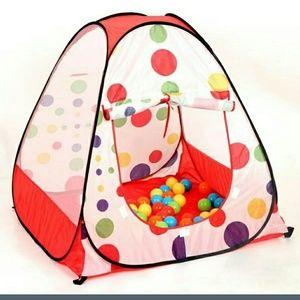 Outdoor play tent