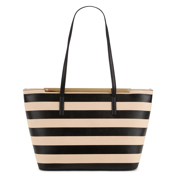 889ed17f247 NWT Aldo Vanwert Striped Shoulder Bag Tote