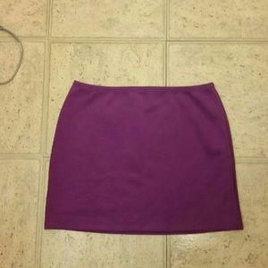 NWT purple neoprene skirt