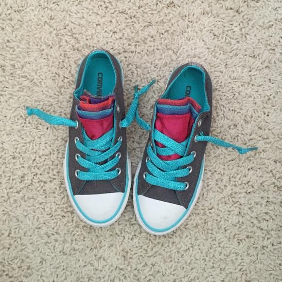 211e0b147dca Converse Shoes - Girls Converse size 12