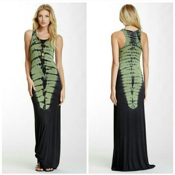 123c4e557f American Twist Tie Dye Tank Maxi Dress
