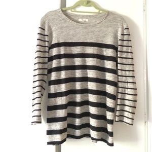 Striped linen Madewell tee