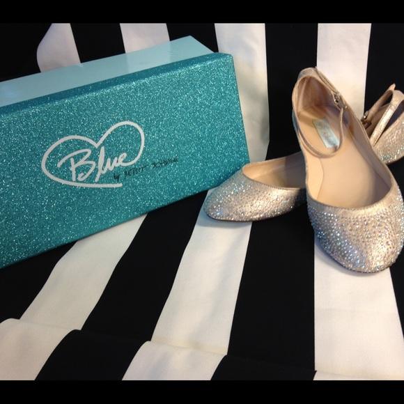 a926078269dc Betsey Johnson Shoes - Blue by Betsy Johnson JOY Ballet Flats!