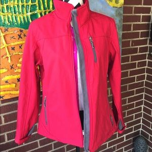 Free Country Jackets & Blazers - Free Country Red Soft Shell Jacket