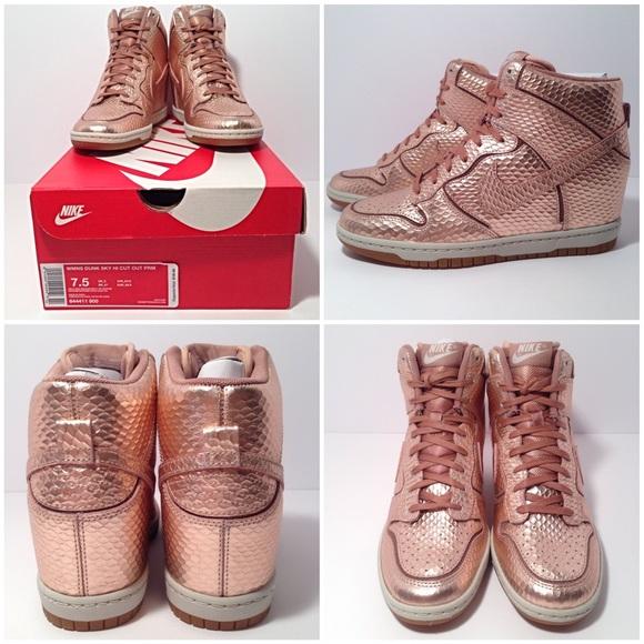 2018 sneaker sale ab992 4755b nike dunk sky high snakeskin