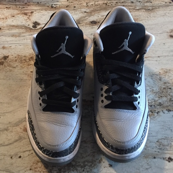 low priced 79d46 92b1c Air Jordan Retro III (3) Wolf Grey Size 8 Men