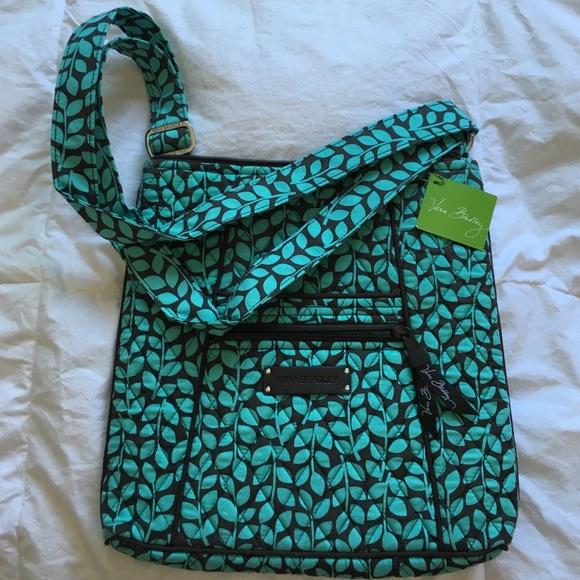 Hipster Shower Vines Vera Bradley crossbody purse 5cc54a8d39dce