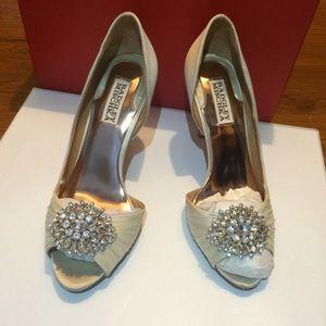 Badgley Mischka Shoes - Open toe pumps
