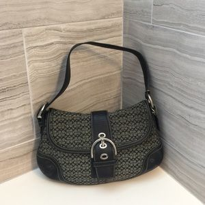 Coach Signature Canvas Hobo