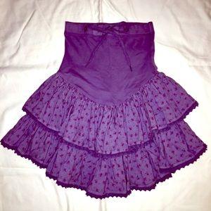 RARE! Vintage Betsey Johnson ruffle skirt!