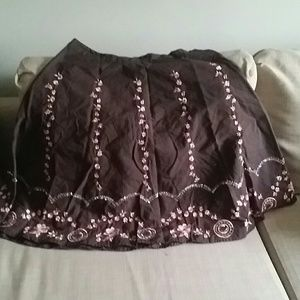 Cute skirt size large